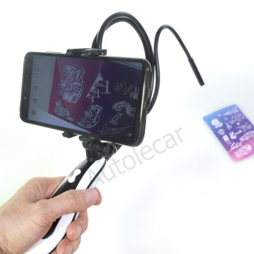 Эндоскоп VNN-03-8мм-1м-WiFi со складным креплением для смартфона