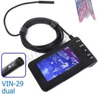 Эндоскоп VIN-29-8мм-4,5м-dual, фронтальная и боковая камеры