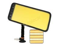 PDR лампа 420/200мм, 5полос, с желтым рассеивателем. Арт 2.6.60