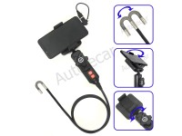 VQ-200-8мм-1,2м USB эндоскоп, HD flex, с управляемой камерой на 360гр