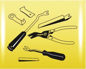 Инструмент для разбора обшивки салона