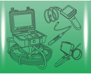 Видеоэндоскоп, Эндоскоп для труб, Видеонаблюдение