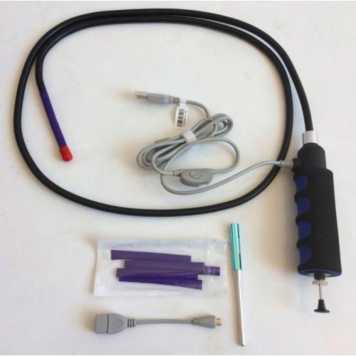 Эндоскоп VE-111-8mm-0.8m USB гибкий кабель с управляемой камерой
