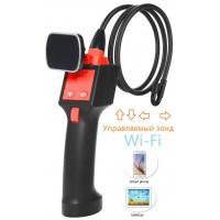 Эндоскоп VI-85-8mm (0.8-2 метра) wi-fi с управляемой камерой 180'