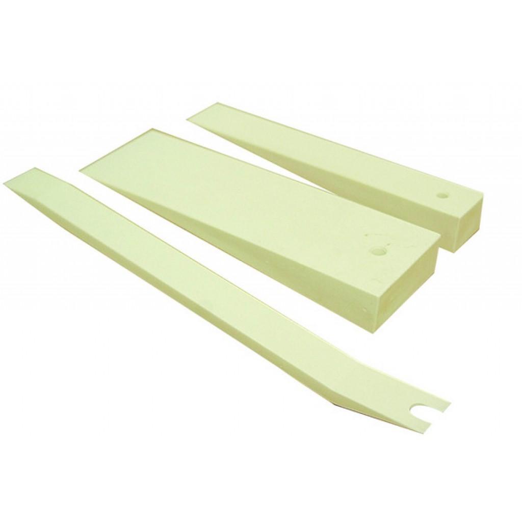Лопатки для снятия обшивки своими руками